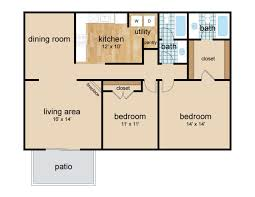 River City Phase 1 Floor Plans by High River Apartment Homes Apartment In Tuscaloosa Al