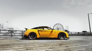 Nissan Gtr Yellow - nissan gtr mod accurate dash emblems interior and lights