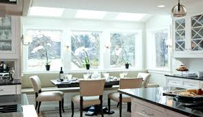 kitchen benchtop designs wonderful kitchen design banquette seating white leather dining