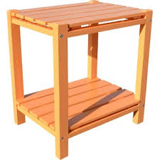 Orange Side Table Tropical End Side Tables You Ll Wayfair