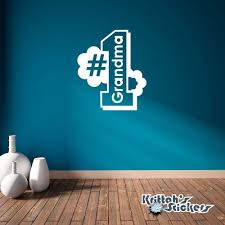 wall decals stickers home decor home furniture diy 1 grandma vinyl wall decal home decor best grandmother number nana sticker l073