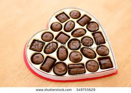 chocolates for s day heart box chocolates valentines day backgrounds stock photo