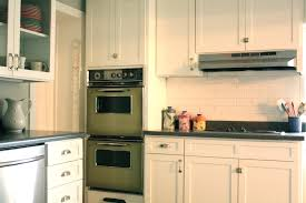 interior amazing white kitchen cabinets with fasade backsplash yes you can tile over tile u2013
