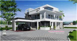 Floor Plan With Elevation by Flat Roof Elevation U2013 Modern House