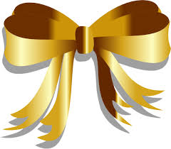 gold ribbons gold ribbon clip at clker vector clip online