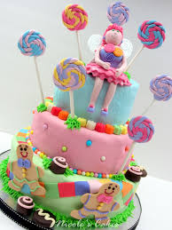 candyland birthday cake confections cakes creations colorful candyland cake