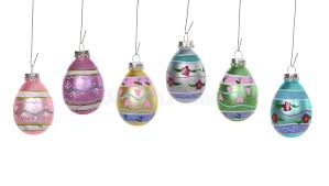 easter egg ornaments easter egg ornaments stock image image of variety occasion 3525233