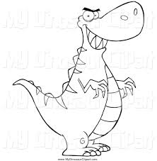 royalty free stock dinosaur designs of coloring pages