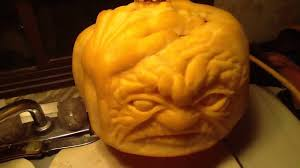 zombie pumpkin carving ideas pumpkin carving wrinkled face u0026 zombie hand youtube