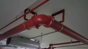 fire fighting pipe support details youtube