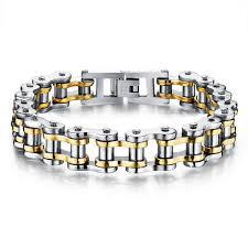man chain bracelet images Motorcycle chain men 39 s bracelet rockstarmoon jpg