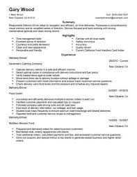driver resume unforgettable truck driver resume examples to stand