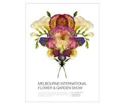 melbourne international flower u0026 garden show poster josephine