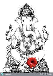 shri ganesh sketch cliparts co