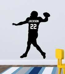 football decal player custom football decal player custom quarterback