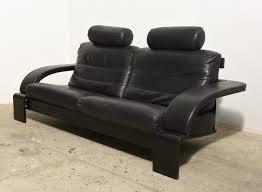 Black Leather Mid Century Sofa Furniture Mid Century Leather Sofa Beautiful Large Midcentury