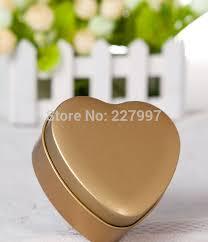 Heart Shaped Candy Boxes Wholesale Wholesale 100 Pieces Heart Shape Mint Tin 7 Color Metal Chocolate