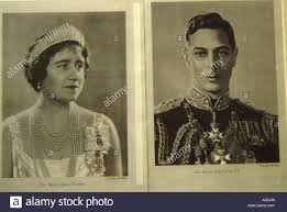 her majesty queen elizabeth and his majesty king george vi in
