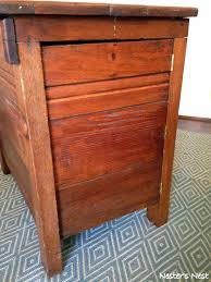 nightstands bedside table with secret compartment narrow