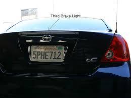 2006 Scion Tc Tail Lights Install Scion Tc Full Third Brake Light