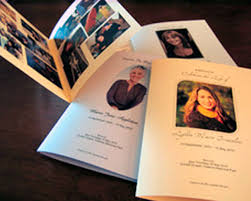 Funeral Booklets Memorial Stationery Funeral Services Tribute Presentations