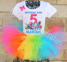 Halloween Ideas For Toddlers Party Trolls Birthday Troll Party Birthday Tutu And Birthday