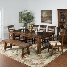 cabin u0026 lodge mahogany kitchen u0026 dining room sets you u0027ll love