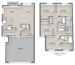 4 bed floor plans 4 bed 2 5 bath apartment in medina mn medina townhomes