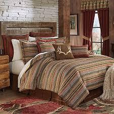 110 X 96 King Comforter Sets Croscill Horizons Comforter Set In Red Brown Bed Bath U0026 Beyond