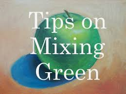 beginner u0027s guide to mixing green in painting youtube