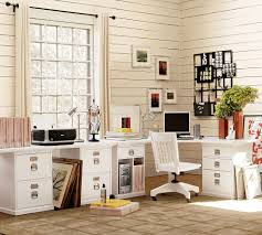 Pottery Barn Home Office Furniture Stunning Diy Potterybarn Home Office With White Furniture Ideas