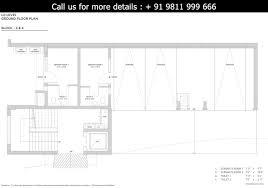 floor plan tata cliffside at myst l 0 level ground floor plan
