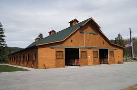 Monitor Style Barn by Showcase Pole Barn Builder Specializing In Post Frame Buildings