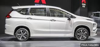 mitsubishi expander interior allnew mitsubishi xpander mpv launched in indonesia mitsubishi