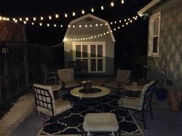 Outdoor String Lights Patio Outdoor String Lights Edison Led Quanta Lighting