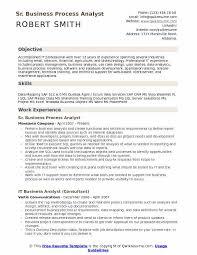 data analytics resume business process analyst resume sles qwikresume
