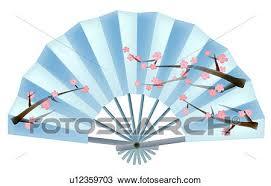 japanese fan drawing of japanese fan u12359703 search clipart illustration