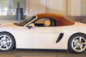 porsche convertible lady gaga drives a white porsche convertible out in montreal 11 05