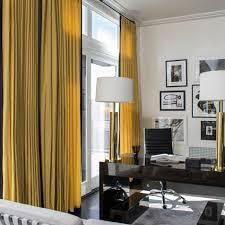 Mustard Curtain 9 Stylish Ways To Use Mustard The Style Guide Luxdeco Com