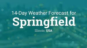 Illinois Weather Map by Springfield Illinois Usa 14 Day Weather Forecast