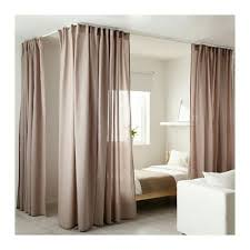 bedroom divider curtains ikea vidga track system for a contemporary canopy interior