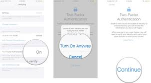 How To Hack Home Design On Iphone by How To Enable 2 Factor Authentication On Iphone And Ipad Imore