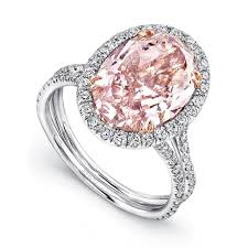Pink Diamond Wedding Rings by Wedding Rings Wedding Rings Sets Pink Diamonds Rings Pink