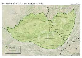 Provence Map The Luberon Regional Natural Park Vélo Loisir Provence