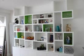 Contemporary Bookshelves Furniture U0026 Accessories Floating Shelves Ideas With Small Corner