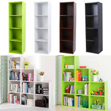 Storage Bookshelf Wooden Bookshelves Ebay