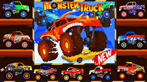 monster trucks for kids videos monster truck monster truck go racing truck for kids videos