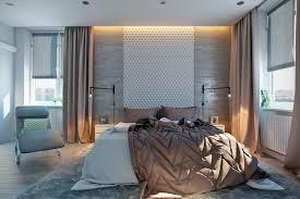 bedroom attractive beige modern drawer concrete wall designs