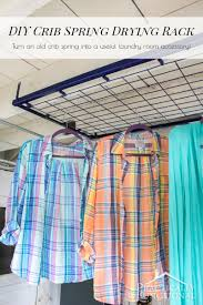 Diy Clothes Dryer Diy Crib Spring Drying Rack