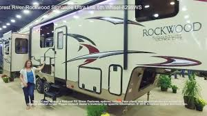 forest river 5th wheel floor plans forest river rockwood signature ultra lite 5th wheel 8298ws youtube